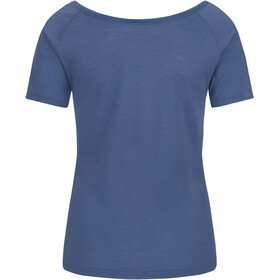 super.natural Essential Scoop Neck Tee 140 Women Dark Avio